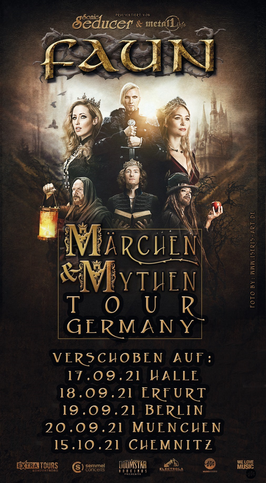 FAUN MÄRCHEN & MYTHEN GERMANY TOUR POSTPONED AGAIN